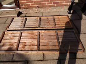Fence Panels 6ft X 2ft