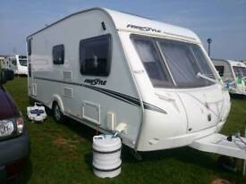 Swift Freestyle 540 2009 Touring Caravan 6 Berth + Awning - Motor Mover Fixed Rear Bunks