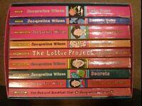 Jacqueline Wilson box set - 9 books