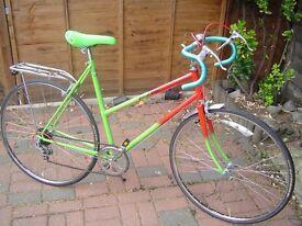vintage raleigh womens road bike