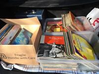 180 vinyl records from 60s and 70s, surplus to requirements
