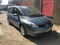 RENAULT ESPACE PRIVILEGE 05 PLATE 2.2 DCI AUTOMATIC MOTD VERY GOOD CONDITION £595