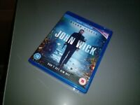 John Wick Blu-Ray *As New Condition with Unused Digital HD UltraViolet Code*