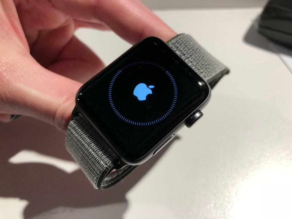 best website bf1b4 15029 Apple Watch series 3 42mm cellular, spare grey aluminium case with dark  olive sport loop | in Camden Town, London | Gumtree