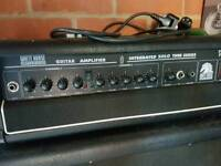 Tube amplifier and cab