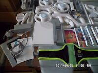 Massive Wii bundle for sale, games and humongous amount of accessories