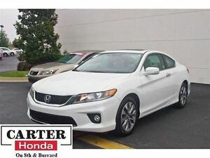 2015 Honda Accord EX-L-NAVI + LEATHER + COUPE! + CERTIFIED!