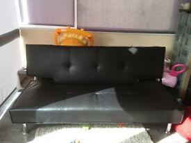 Three seater sofa bed
