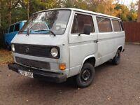vw Transporter T3 petrol left hand drive