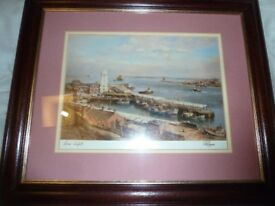 WALTER HOLMES , LOWLIGHTS, PRINT, SIGNED BY HIM LTD EDITION SIGNED PRINT