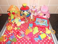 BABY TOY BUNDLE - £10 FOR ALL