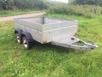 Twin Axle Box Trailer 6ft x 4ft ( CAMPING, QUAD, GO KART, LAWNMOWER )