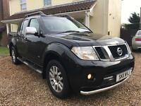 Nissan Navara 3.0 V6 outlaw dci full spec with mountain top