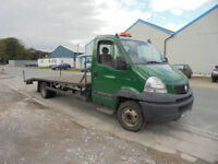 RENAULT MASCOTT DXI 160 MASCOT IVECO DAILY 65C 6.5 TON RECOVERY PLANT EXPORT CLASSIC TRACTOR
