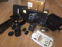 Nikon DSLR D5100 with accessories