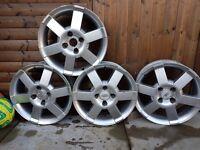 4 ×16 Inch genuine Ford alloy wheels