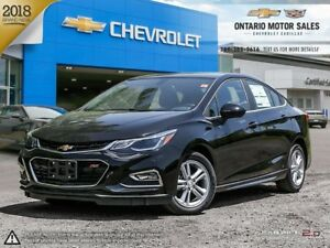 2018 Chevrolet Cruze LT Auto RS PACKAGE / REAR VISION CAMERA...