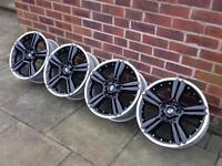 "Genuine 18"" MINI 2-piece split wheels 5x120 Countryman Paceman R60 R61 18x7.5j"