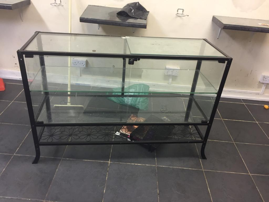 GLASS DISPLAY UNIT. FREE LOCAL DELIVERY