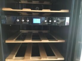 2 zone 12 bottle wine cooler