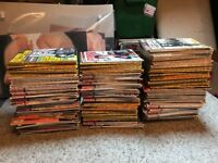 APPROX 185 RECORD COLLECTOR MAGAZINES - BARGAIN £30 COLLECTION FROM NE25