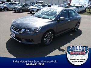 2014 Honda Accord Sport, Back-Up Cam, 45 Km, Warranty