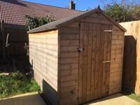 Brand New and unused Garden Shed(One year old)