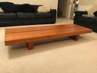 Contemporary Strata low level coffee table
