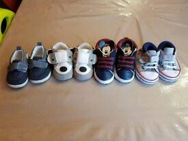 4 x Baby Crib shoes