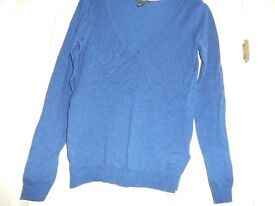 XS H and M Jumper - denim blue