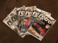 6 Retro cars magazines, feb-jul 2015