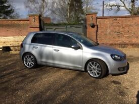 VW GOLF GT TDI, stunning condition and low mileage !