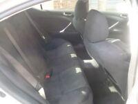 Lexus IS 220D,2231 cc 4 door saloon,keyless ignition,reverse camera,half leather heated memory seats