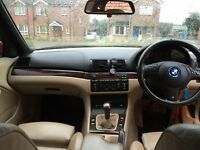 BMW 320 DIESEL- 2005 make -EXCELLENT Condition -FACELIFT MODEL- cream LEATHER seats