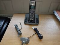 BT BIG Button Cordless Freestyle Telephone Answering Machine Good working order phone