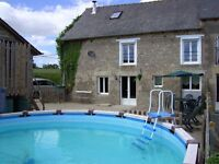 France farm house for rent on Brittany sleeps 8 with pool £350 per week 27th Aug