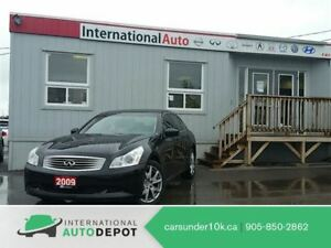 2009 Infiniti G37X SPORT | NAVI | MOONROOF | BACK-UP CAM