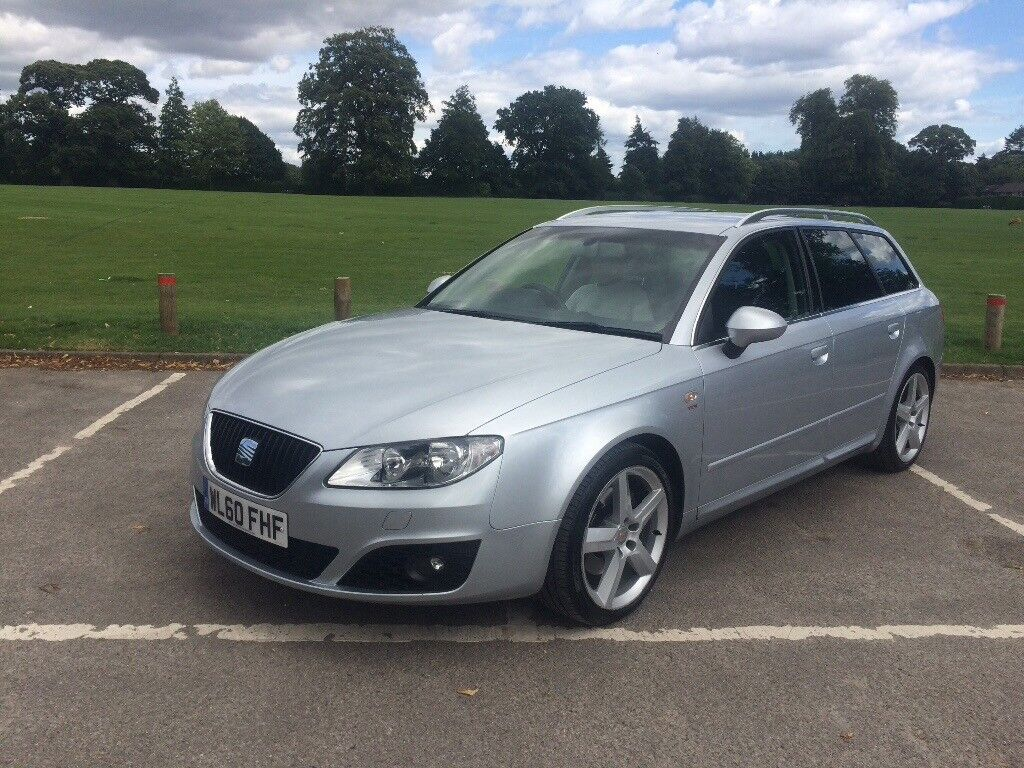 seat exeo sports tech estate 2 0l tdi 170bhp silver 2010 60 92 000 miles in dorchester. Black Bedroom Furniture Sets. Home Design Ideas