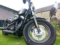 harley davidson 48..2011 low low miles 106 basically a new bike !!!!!full years MOT