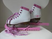 ****SFR Junior Ice Skates - Size Junior 11J / Eur 29 - Immaculate Condition - Worn Twice****