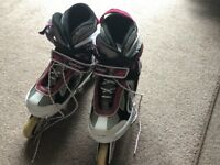 Inline Roller Blades Size : Medium.. 37 - 40 Good condition