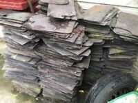 Roof slates approx 600+ over 100 yrs old.