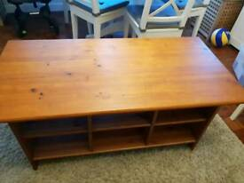 Solid wood Ikea coffee table
