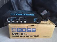 Boss Digital Delay / Pitch Shifter RPS-10