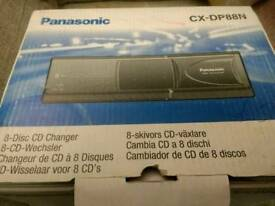 Panasonic CX-DP88N 8 disc CD changer. BNIB.