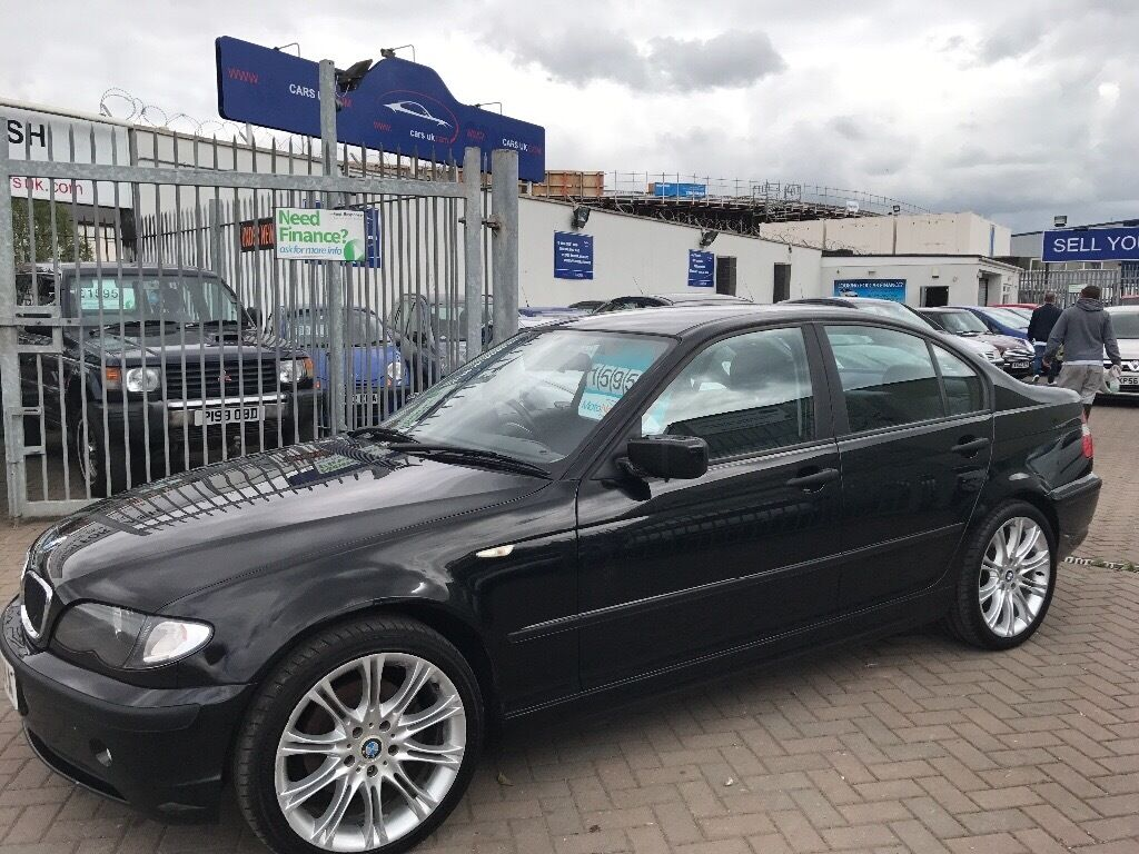 2002 02 BMW 320d WITH M SPORT MV ALLOY WHEELS SUPERB DRIVE VERY ...