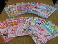 collection of 19 assorted craft and home magazines
