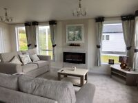 BRAND NEW LODGE FOR SALE WITH STUNNING SEA VIEWS OVER THE NORTHUMBERLAND COAST.