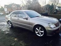 Mercedes Benz c class c220 cdi Avantgarde 2006. (Not BMW, Audi Honda, Nissan or Toyota vw )