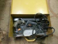 Elu 240v planer excellent condition in metal carry case